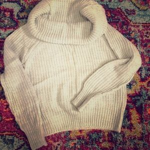 Sweater with cowl neck